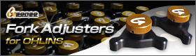 G sense Fork Adjustors for OHLINS